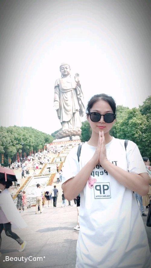 2014-10-4灵山大佛祈福